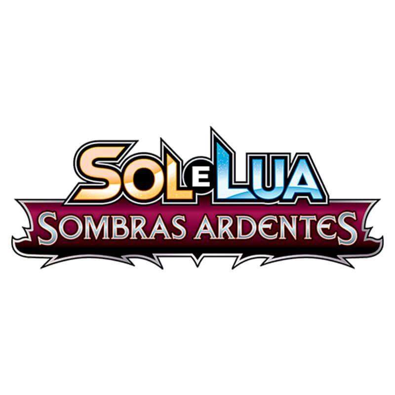 Pokémon TCG: Deck SM3 Sombras Ardentes - Rocha Confiável + Triple Packs Cosmog e Meowth de Alola