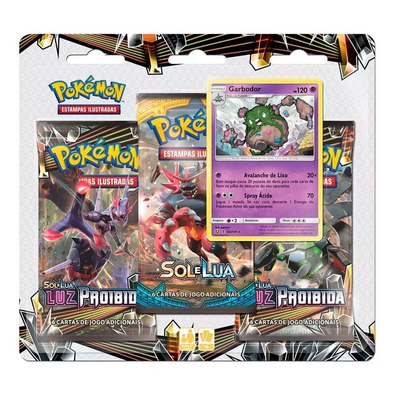 Pokémon TCG: Deck SM6 Luz Proibida - Rebelde Crepuscular + Triple Pack Garbodor