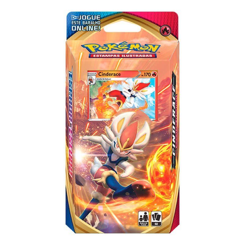 Pokémon TCG: Deck SWSH1 Espada e Escudo - Baralho Temático Cinderace