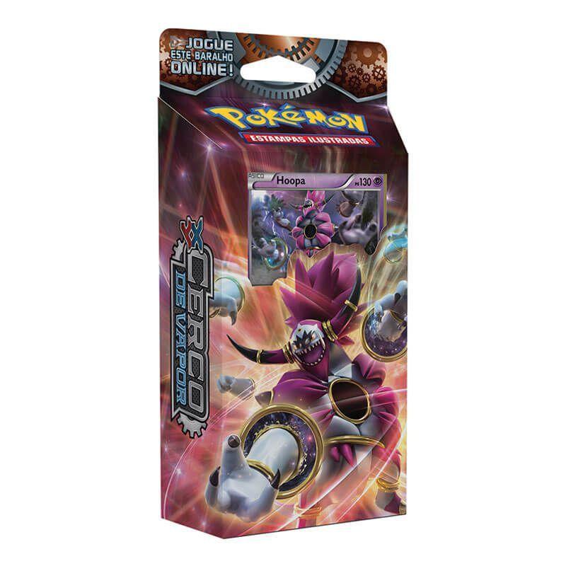 Pokémon TCG: Deck XY11 Cerco de Vapor - Anel de Raios + Engrenagens de Fogo