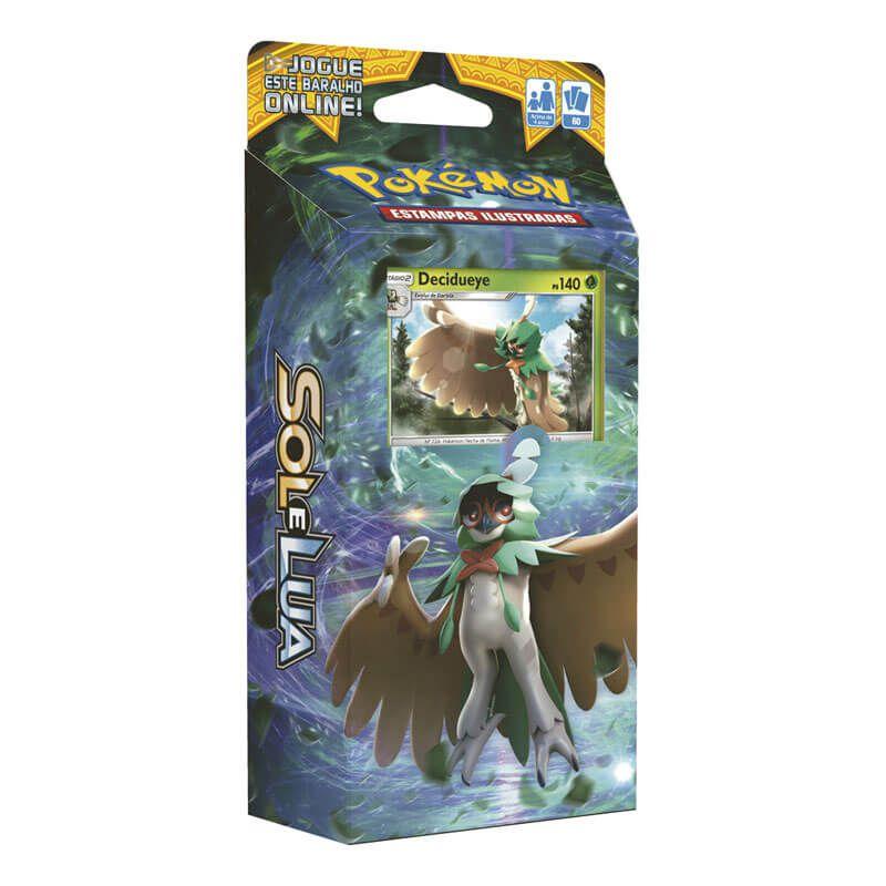 Pokémon TCG: Decks SM1 Sol e Lua - Sombra Florestal + Rugido Ardente + Maré Brilhante