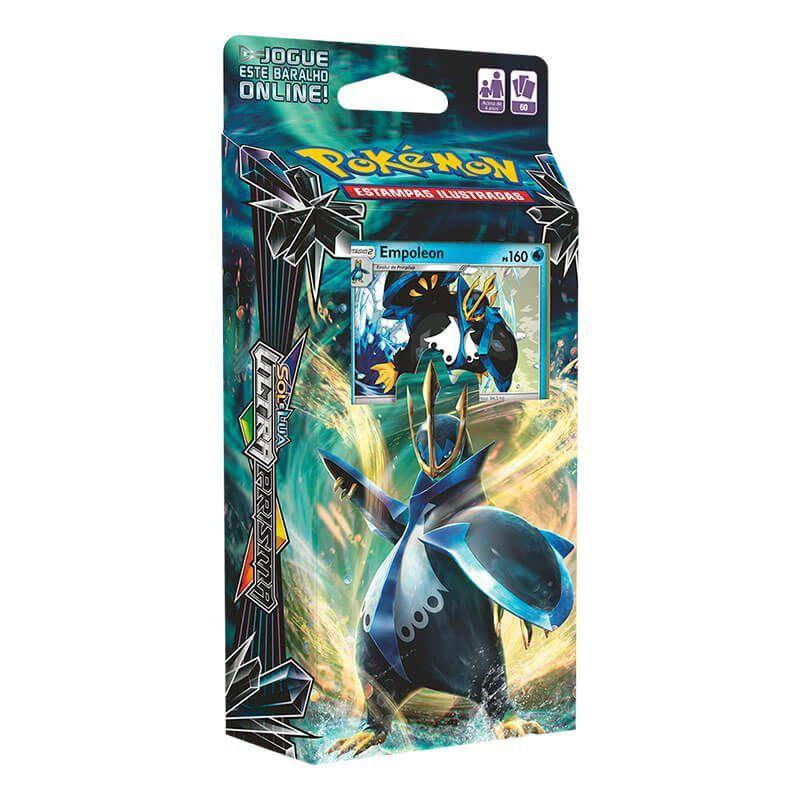 Pokémon TCG: Decks SM5 Ultra Prisma - Comando Imperial + Golpe Supersônico