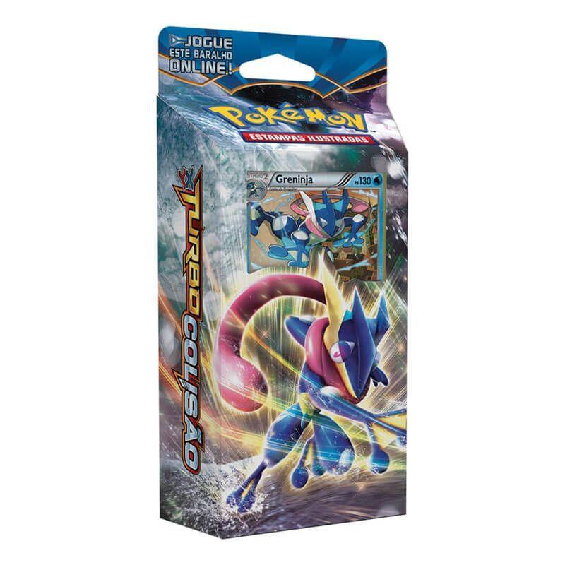 Pokémon TCG: Decks XY9 Turbo Colisão - Retalhador de Ondas + Olho Elétrico