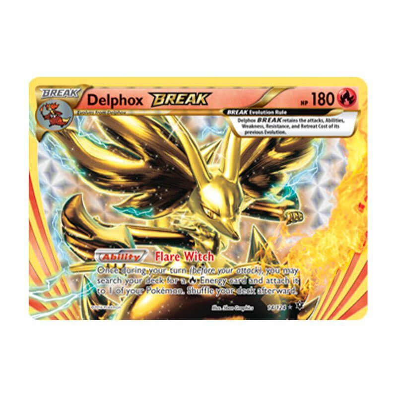 Pokémon TCG: Delphox TURBO (14/124) - XY10 Fusão de Destinos