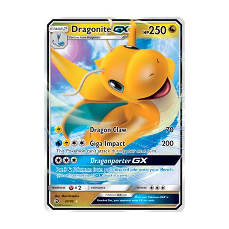 Pokémon TCG: Dragonite GX (37/70) - SM7.5 Dragões Soberanos