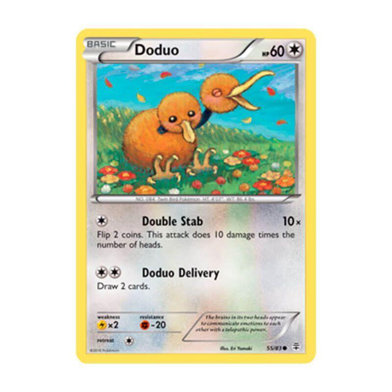 Pokémon TCG: Duduo (55/83) - Gerações