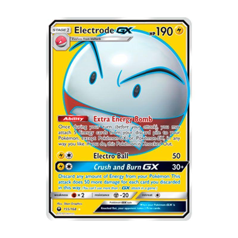 Pokémon TCG: Electrode GX (155/168) - SM7 Tempestade Celestial