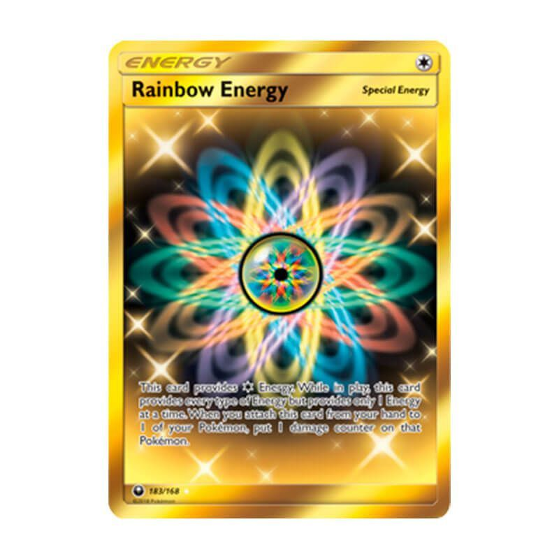 Pokémon TCG: Energia Arco-Íris (183/168) - SM7 Tempestade Celestial