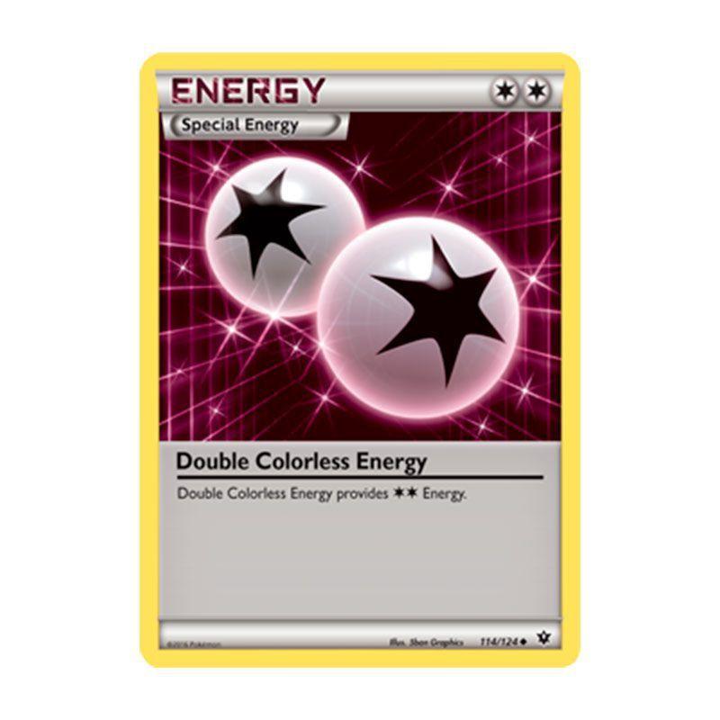 Pokémon TCG: Energia Incolor Dupla (114/124) - XY10 Fusão de Destinos
