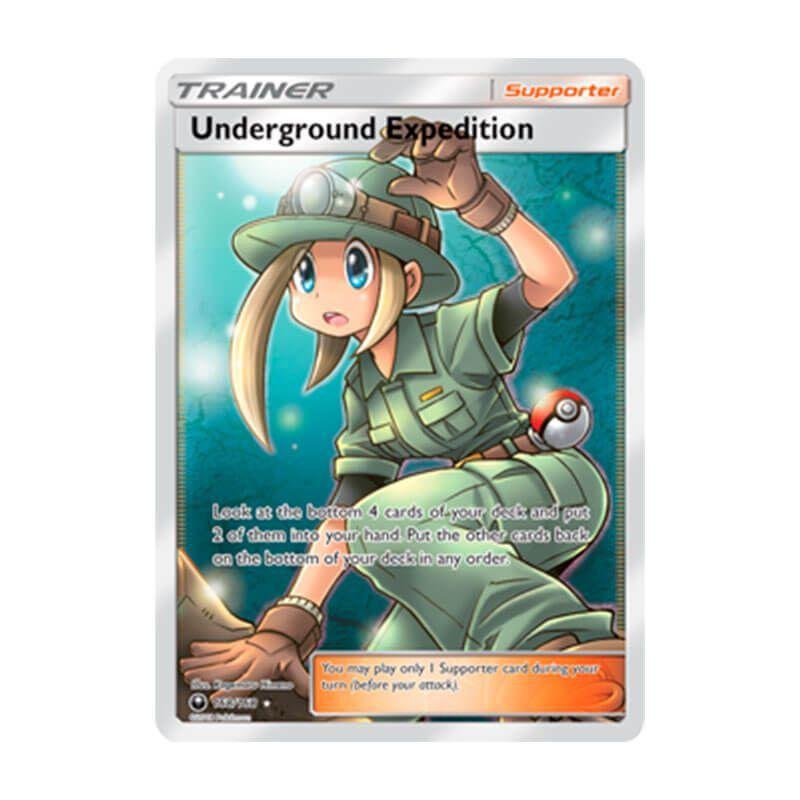Pokémon TCG: Expedição Subterrânea (168/168) - SM7 Tempestade Celestial