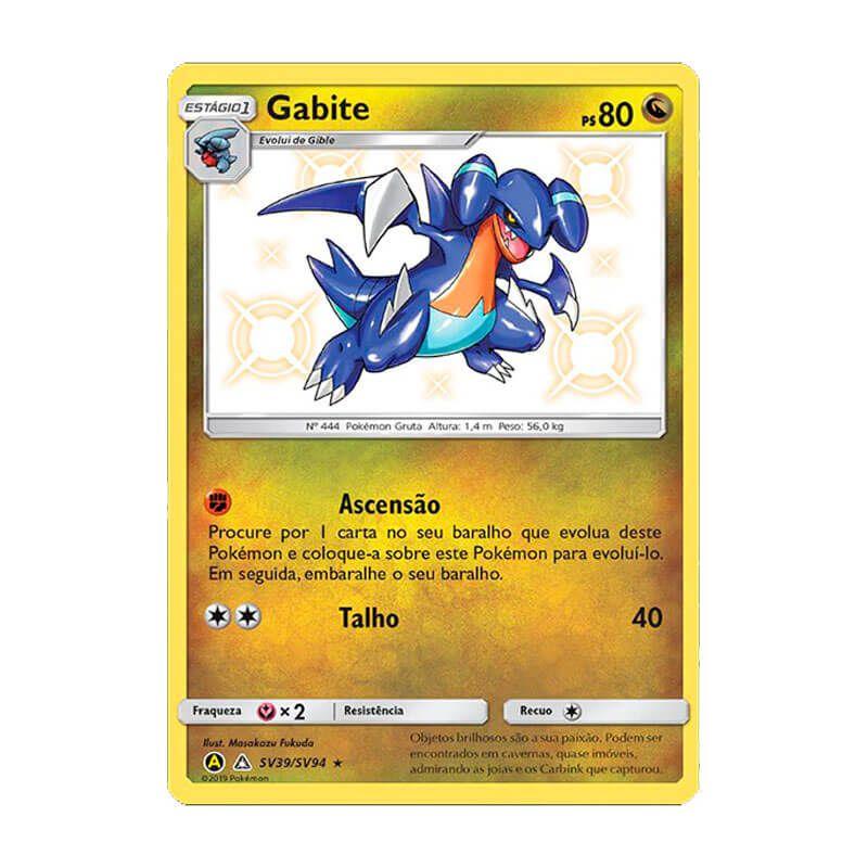 Pokémon TCG: Gabite (SV39/SV94) - SM11.5 Destinos Ocultos