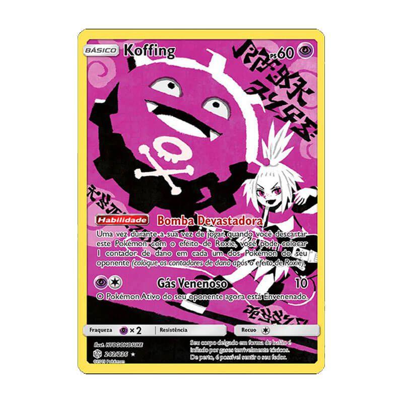 Pokémon TCG: Koffing (243/236) - SM12 Eclipse Cósmico