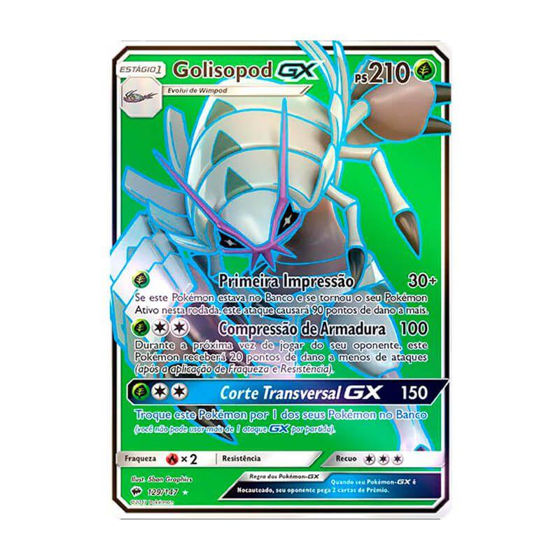 Pokémon TCG: Golisopod GX (129/147) - SM3 Sombras Ardentes