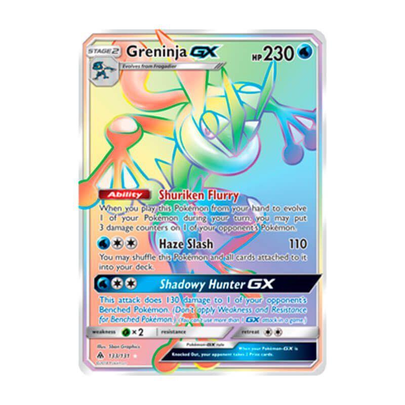 Pokémon TCG: Greninja GX (133/131) - SM6 Luz Proibida