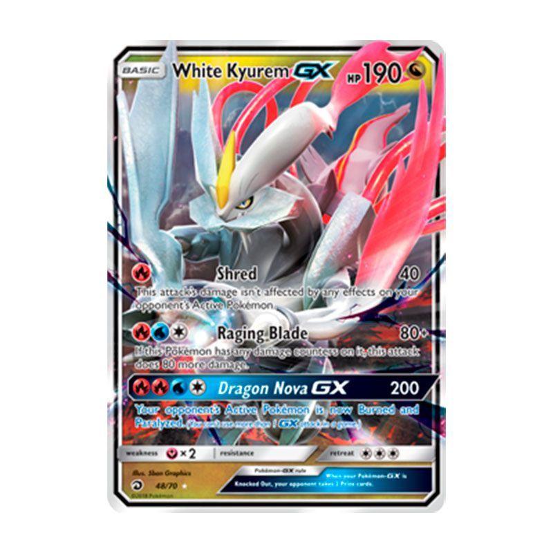 Pokémon TCG: Kyurem Branco GX (48/70) - SM7.5 Dragões Soberanos