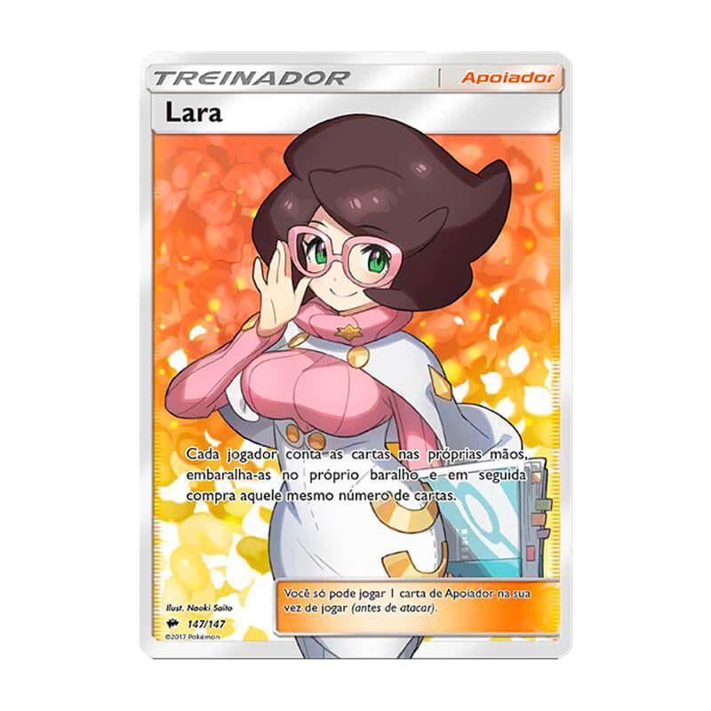 Pokémon TCG: Lara (147/147) - SM3 Sombras Ardentes