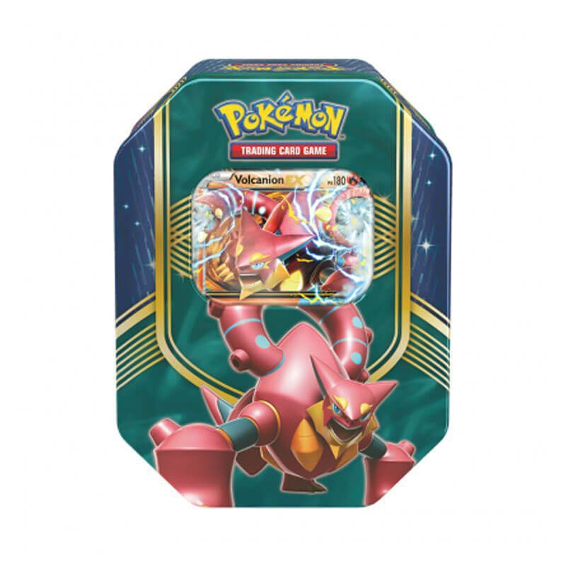 Pokémon TCG: Lata Colecionável Batalha de Coração - Volcanion EX