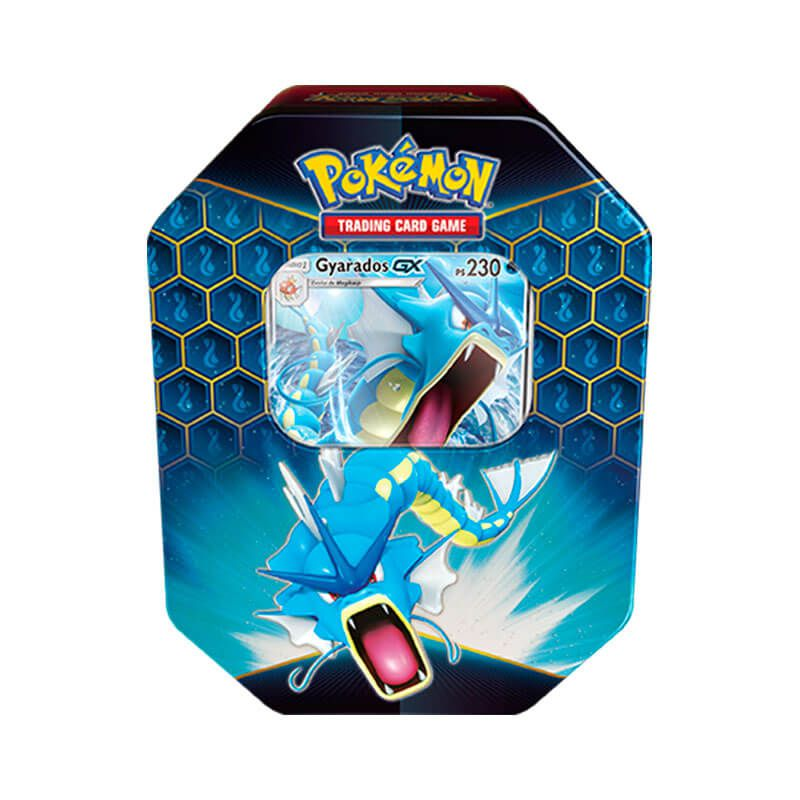 Pokémon TCG: Lata Colecionável Destinos Ocultos - Gyarados GX + Raichu GX
