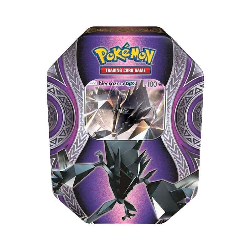 Pokémon TCG: Lata Colecionável Poderes Misteriosos - Necrozma GX