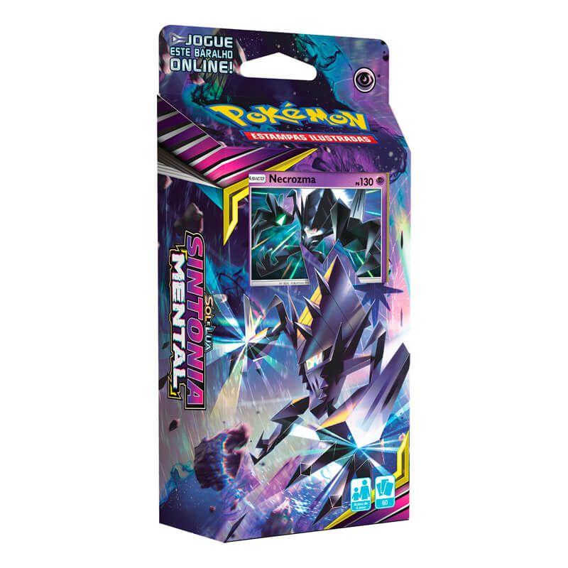 Pokémon TCG: Lata Colecionável Poderes Misteriosos - Necrozma GX + Deck SM11 Sintonia Mental - Laser Focal