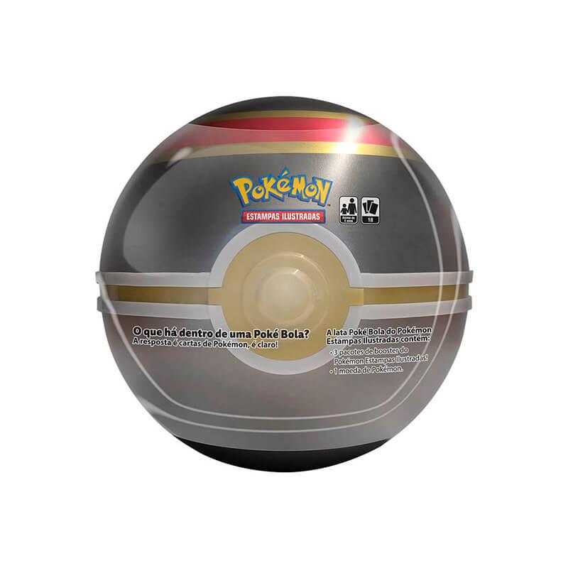 Pokémon TCG: Lata Colecionável Poké Bola (Luxury Ball/Bola Luxo)