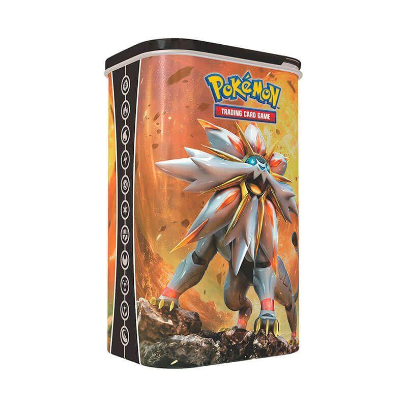 Pokémon TCG: Lata Porta Baralho - Solgaleo