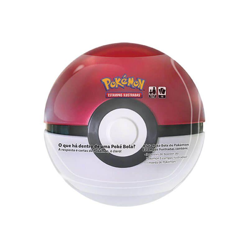 Pokémon TCG: Latas Colecionáveis Poké Bola (Poké Ball) + Quick Ball/Bola Rápida