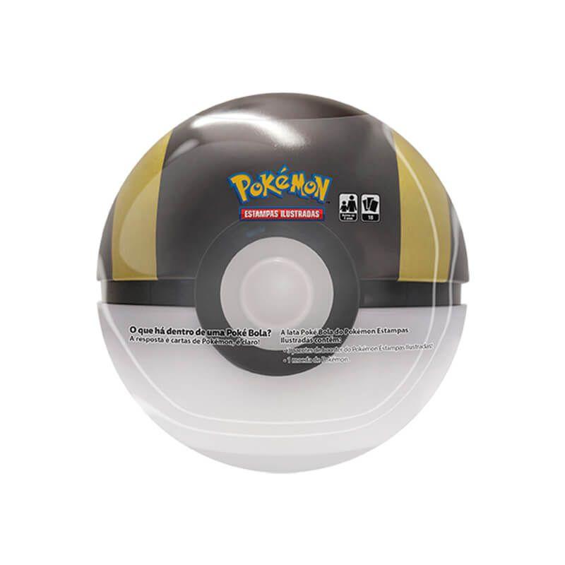 Pokémon TCG: Latas Colecionáveis Poké Bola (Poké Ball) + Ultra Ball/Ultra Bola