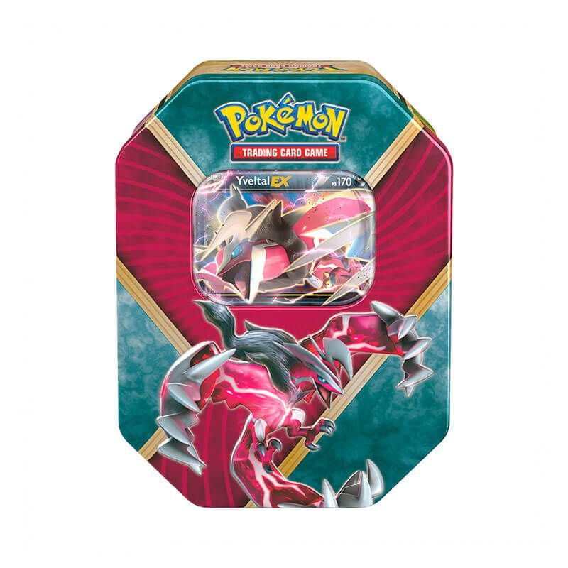 Pokémon TCG: Latas Kalos Brilhante - Xerneas EX + Yveltal EX
