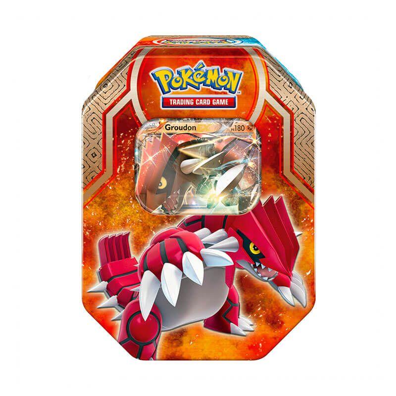 Pokémon TCG: Latas Lendas de Hoenn - Groudon EX + Kyogre EX