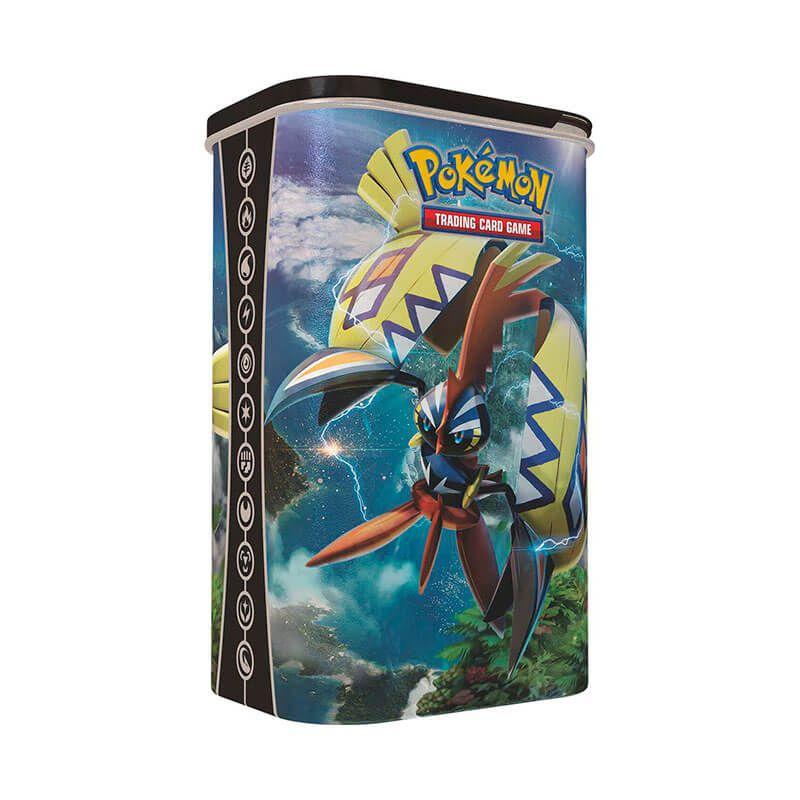 Pokémon TCG: Latas Porta Baralho - Tapu Fini + Tapu Koko