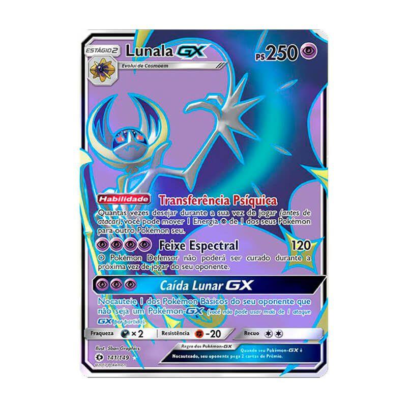 Pokémon TCG: Lunala GX (141/149) - SM1 Sol e Lua