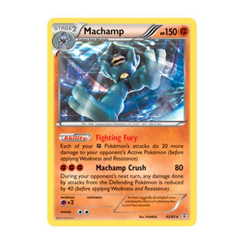 Pokémon TCG: Machamp (42/83) - Gerações