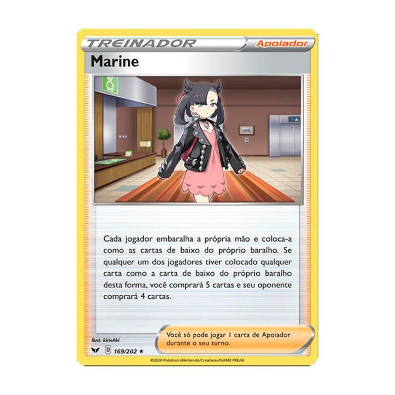 Pokémon TCG: Marine (169/202) - SWSH1 Espada e Escudo