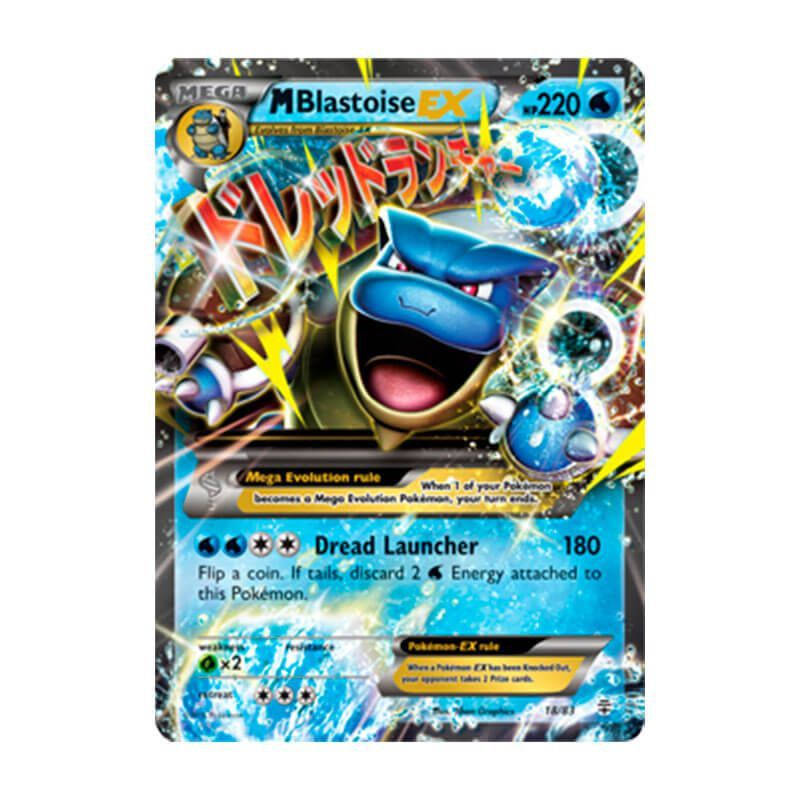 Pokémon TCG: Mega Blastoise EX (18/83) - Gerações