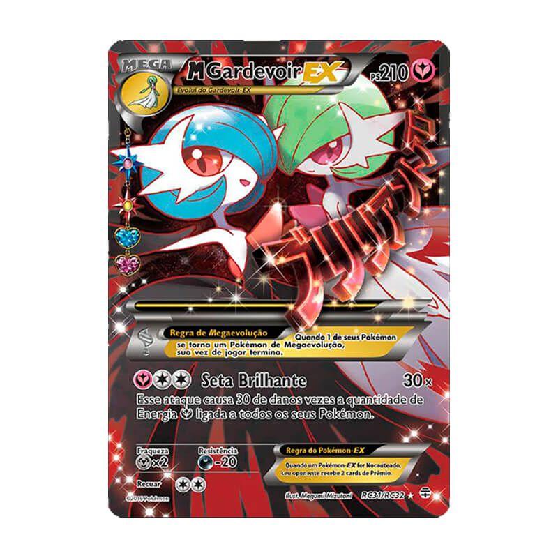 Pokémon TCG: Mega Gardevoir EX (RC31/RC32) - Gerações
