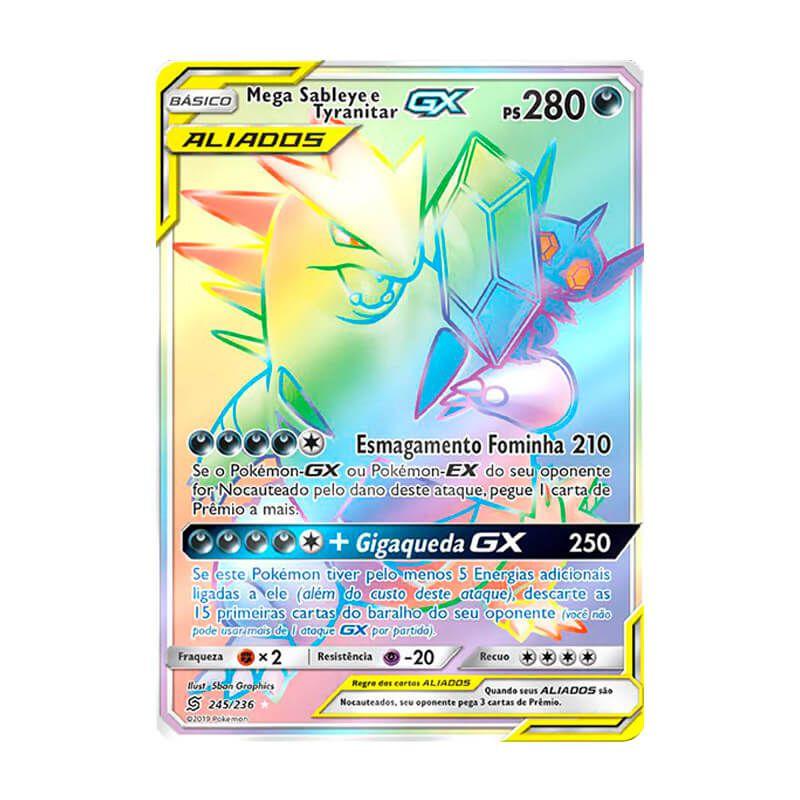 Pokémon TCG: Mega Sableye e Tyranitar GX (245/236) - SM11 Sintonia Mental