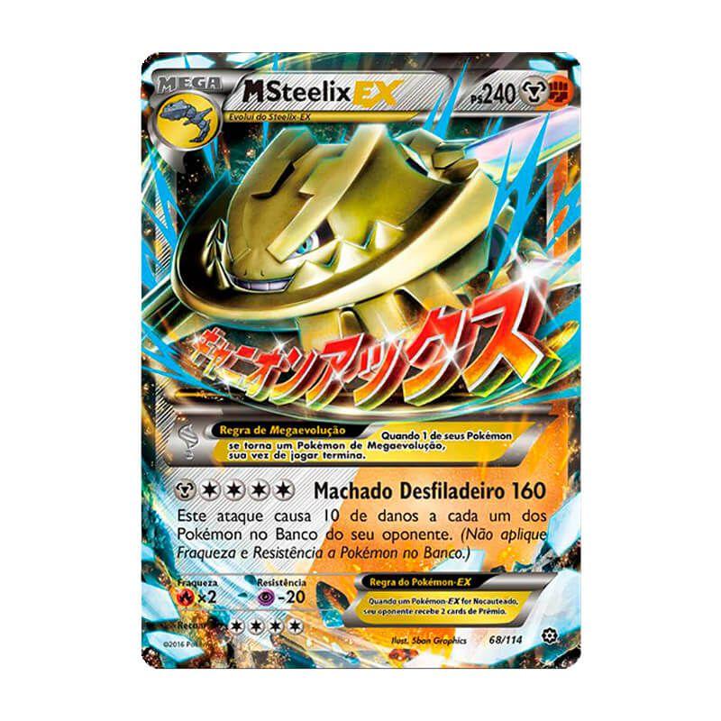 Pokémon TCG: Mega Steelix EX (68/114) - XY11 Cerco de Vapor