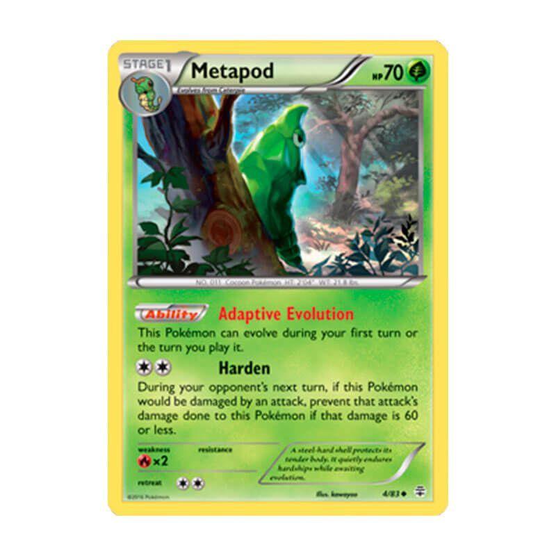 Pokémon TCG: Metapod (4/83) - Gerações