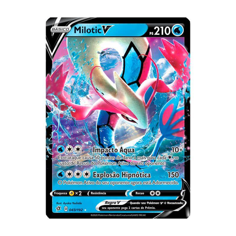 Pokémon TCG: Milotic V (43/192) - SWSH2 Rixa Rebelde