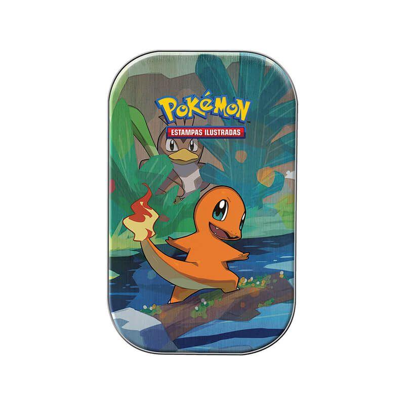 Pokémon TCG: Mini Lata Amigos de Kanto - Charmander