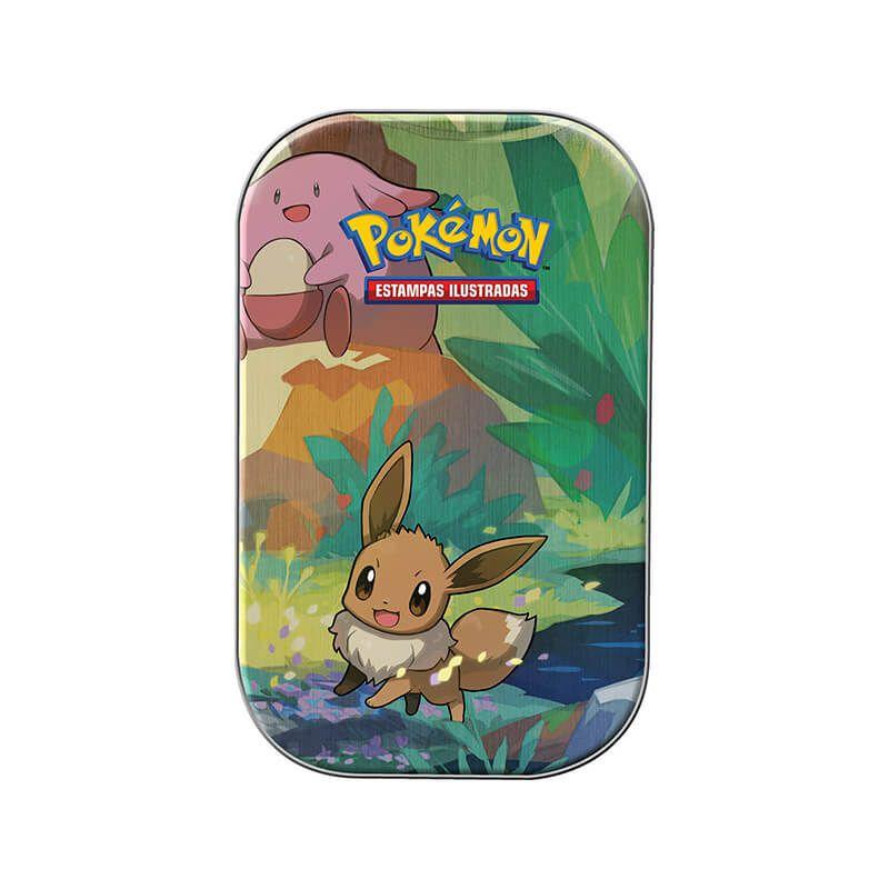Pokémon TCG: Mini Lata Amigos de Kanto - Eevee