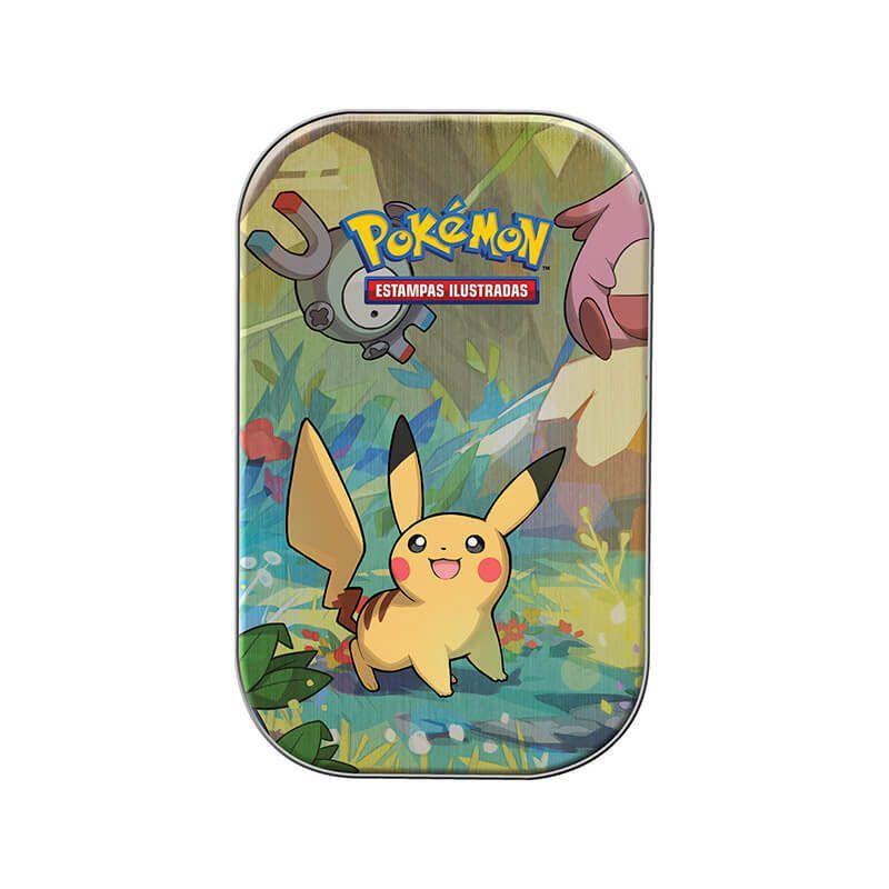 Pokémon TCG: Mini Latas Amigos de Kanto - Pikachu + Eevee