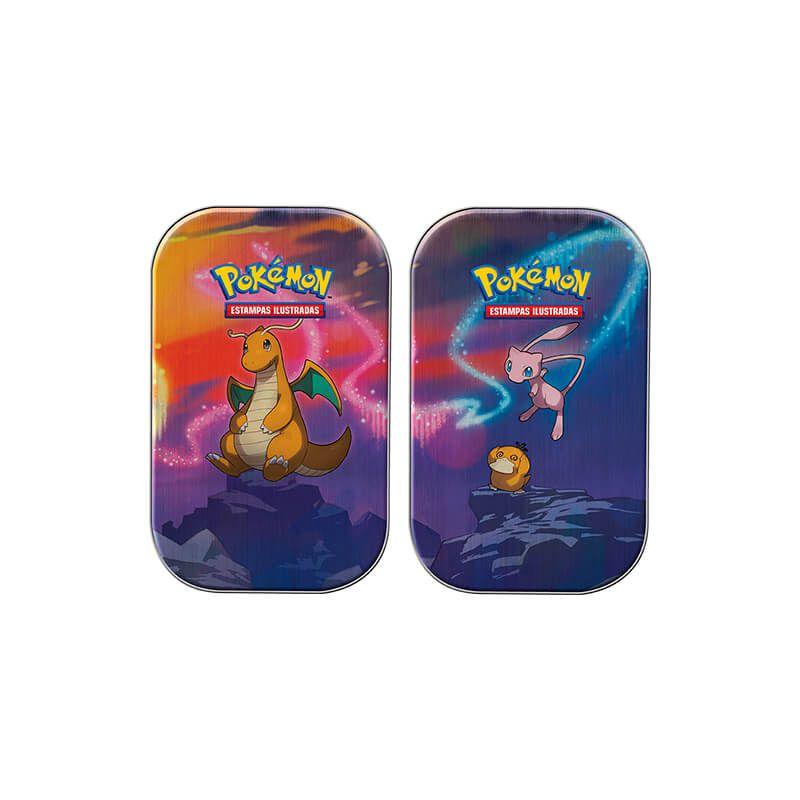 Pokémon TCG: Mini Latas Poder de Kanto - Dragonite + Mew e Psyduck