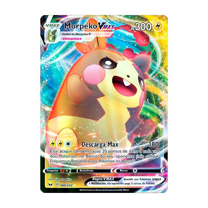 Pokémon TCG: Morpeko VMAX (80/202) - SWSH1 Espada e Escudo