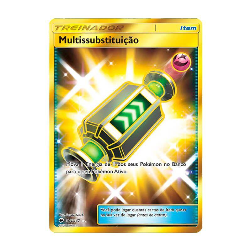 Pokémon TCG: Multissubstituição (164/147) - SM3 Sombras Ardentes