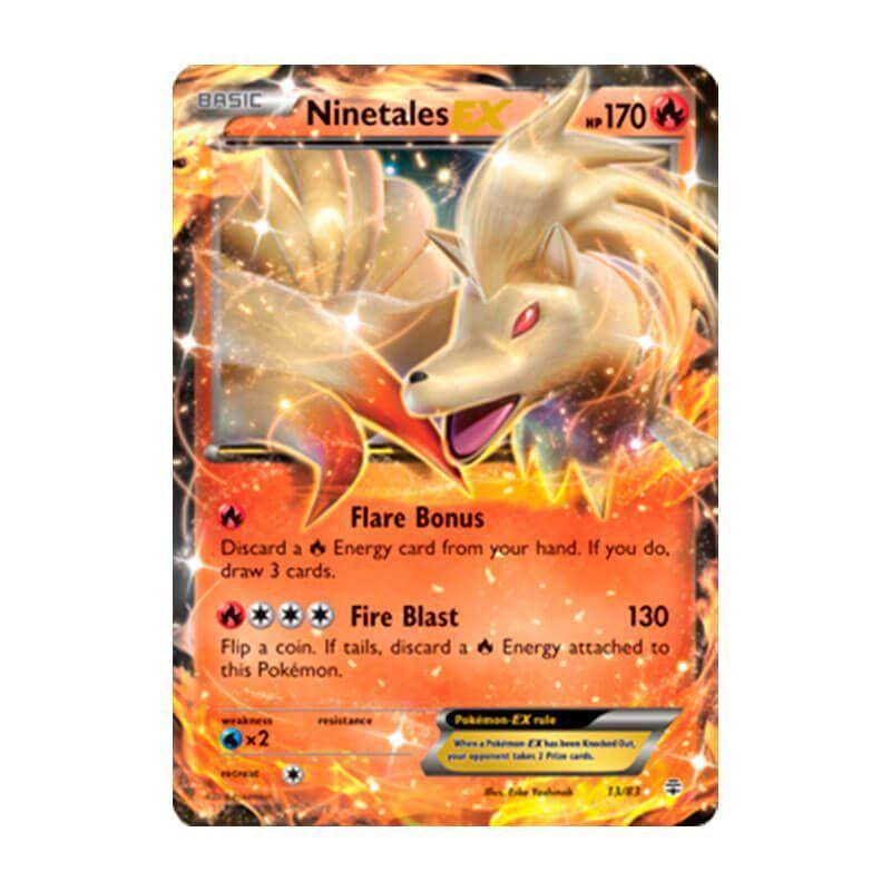 Pokémon TCG: Ninetales EX (13/83) - Gerações