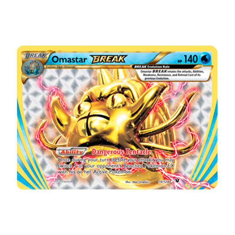 Pokémon TCG: Omastar TURBO (19/124) - XY10 Fusão de Destinos