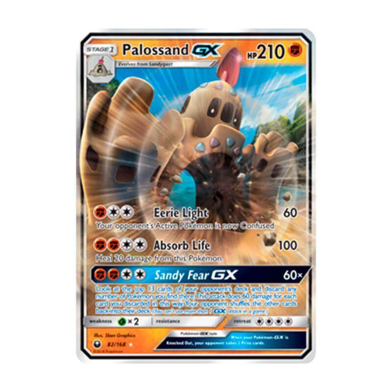 Pokémon TCG: Palossand GX (82/168) - SM7 Tempestade Celestial