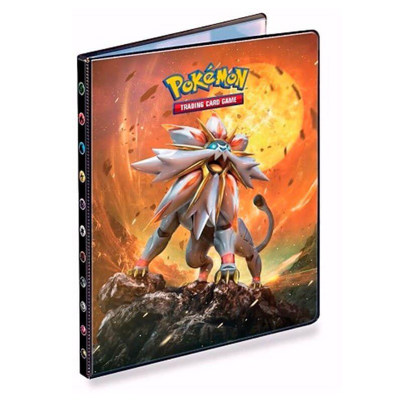 Pasta para Cartas Oficial Ultra PRO - Pokémon TCG: SM1 Solgaleo e Lunala